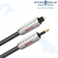 Cable Optico Nova Toslink a 3.5mm Optico 0.5M