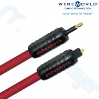 Cable Optico Supernova 7 Glass Toslink a Conector 3.5mm 1.0M