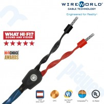 Cable de Parlante Wireworld Oasis7 - Par 2mts Banana