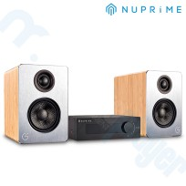 Combo Parlantes Celsus Sound SP-One Version Pasiva + DAC NUPRIME IDA 6