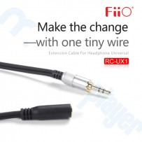 Cable Fiio RC-UX1 Cable de Extension 3.5mm a 3.5mm 1 Mt